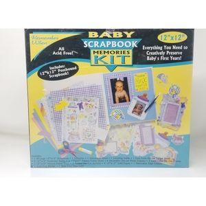 Baby Scrapbook Memories Kit New Sealed